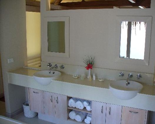 Beachfront Are Bathroom