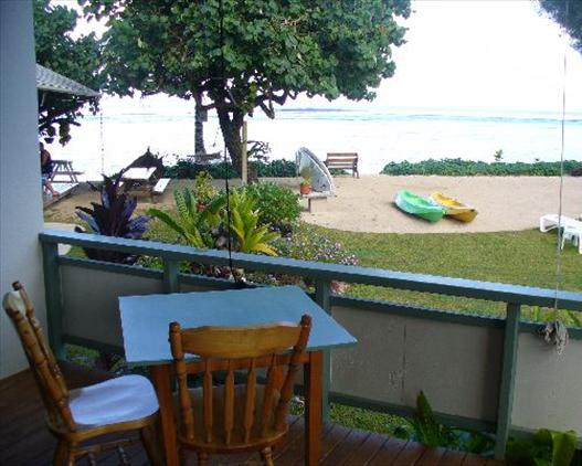 Aroa Beachside Inn View