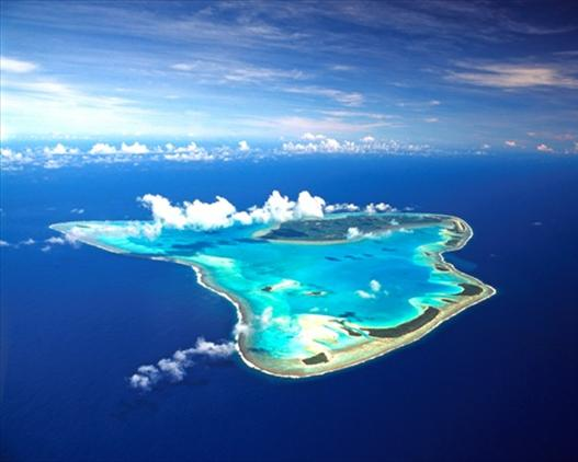 Aitutaki - Aireal of the Island