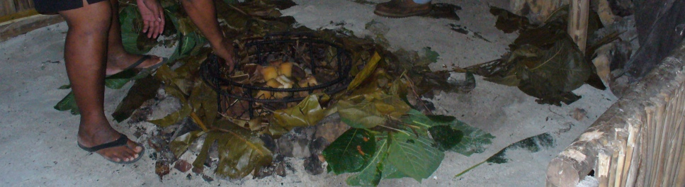 Traditional Cook Island Umu