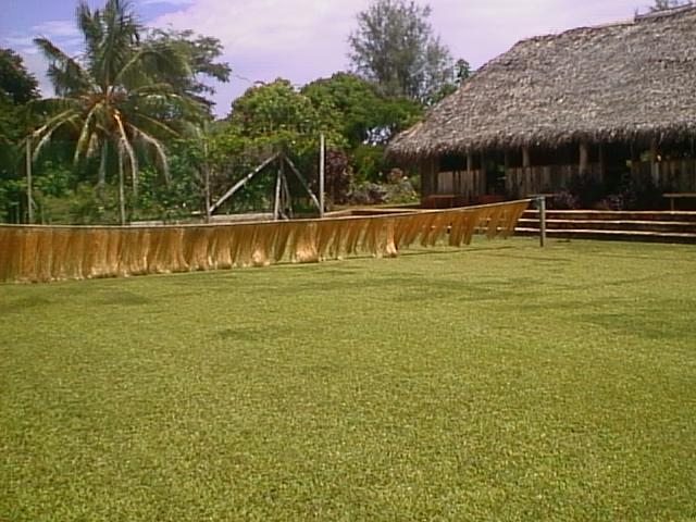 Atiu Villas Tennis Court