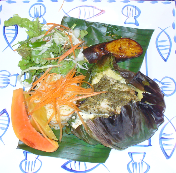 A Sample of Cook Islands Food